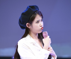 kpop, soloist, and iu image
