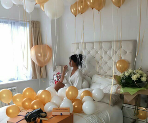 balloons, luxury, and gift image