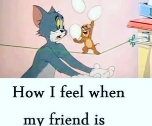 funny, phone, and tom and jerry image