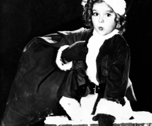 christmas and shirley temple image