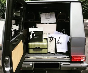 luxury, chanel, and car image