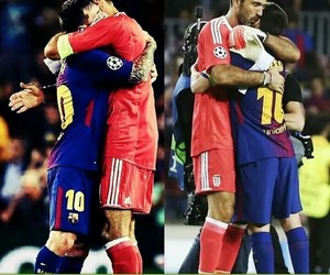 football, messi, and love image
