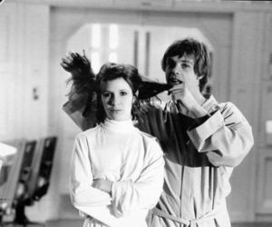 behind the scene and star wars image