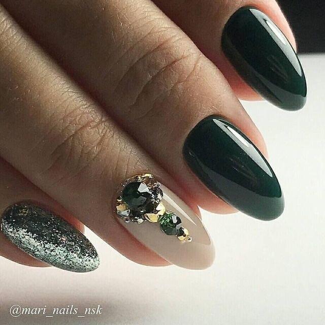 emerald green discovered by kolesova_art on We Heart It