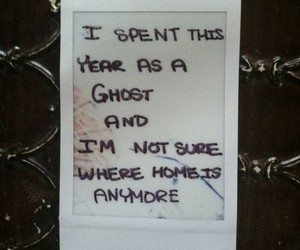 ghost, home, and quotes image
