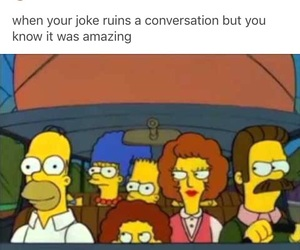 meme, funny, and the simpsons image