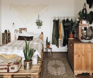 bohemian, cozy, and decoration image