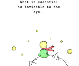 quotes, the little prince, and wallpaper image