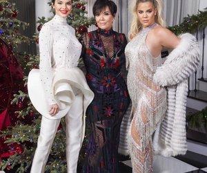 khloe kardashian, kendall jenner, and kris jenner image