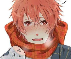 red hair, ittoki otoya, and anime boy image