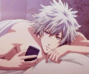 uta no prince-sama, gif, and anime boy image