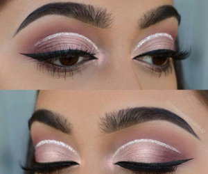 glitter, glow, and rose image