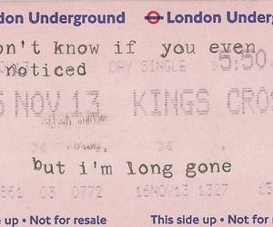 gone, london, and quotes image