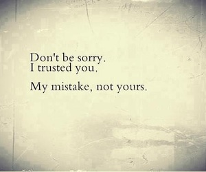mistakes, trust, and quotes image