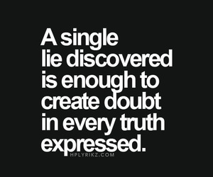 lie, truth, and quotes image