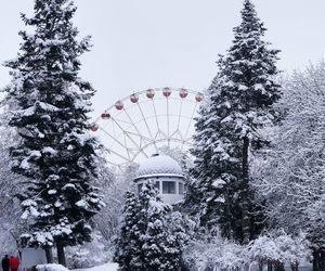 winter, belarus, and minsk image