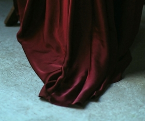 red, aesthetic, and dress image