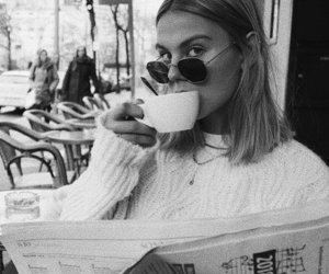 classy, coffee, and fashion image