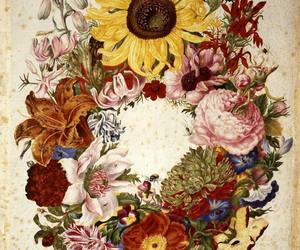 flowers, art, and museum image