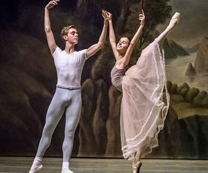 ballet, dancer, and love image
