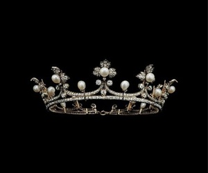 crown, aesthetic, and black image