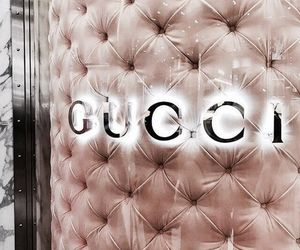 gucci, luxury, and pink image