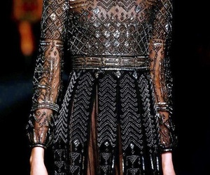 runway, Valentino, and ball gown image