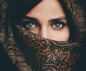 eyes, girl, and photography image