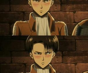 levi, shingeki no kyojin, and anime image