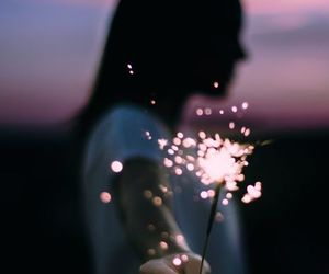 girl, light, and tumblr image