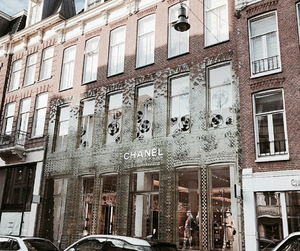 architecture, chanel, and luxury image