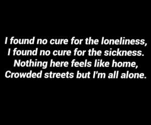 deep, home, and Lyrics image