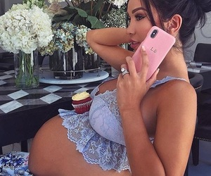 pregnant, girl, and pregnancy image