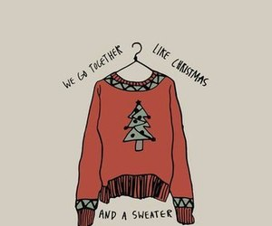 christmas, cozy, and quote image