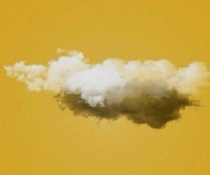 header, yellow, and clouds image