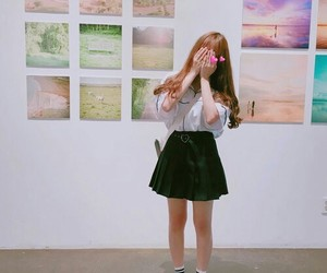 aesthetic, korean, and bright pastel image