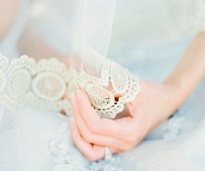 lace, details, and wedding image