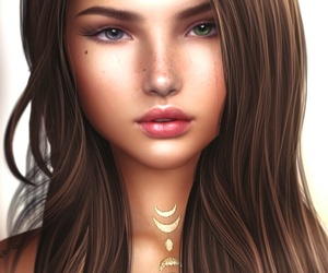 beautiful, beauty, and cosmetic image