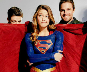 arrow, Supergirl, and stephen amell image