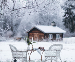 country living, rural, and winter image