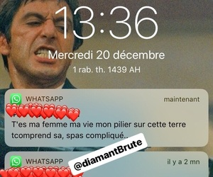 amour, conversation, and love sms image