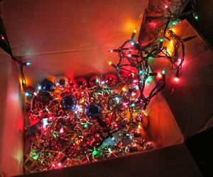 christmas, lights, and season image