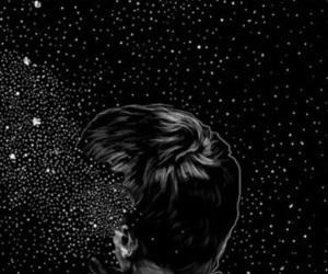 wallpaper, stars, and boy image
