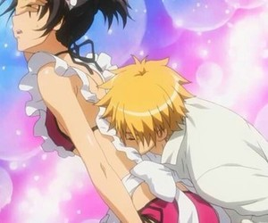 anime, misaki, and kaichou wa maid-sama image
