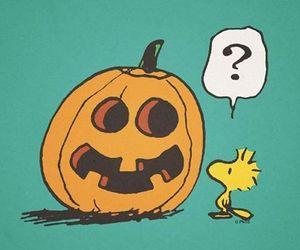 Halloween, woodstock, and pumpkin image