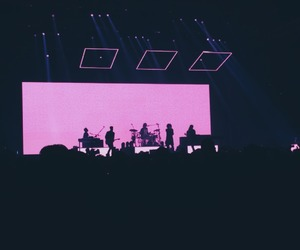 concert, pink, and the1975 image