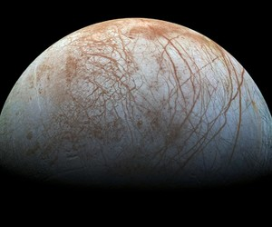 Europa, space, and moon image