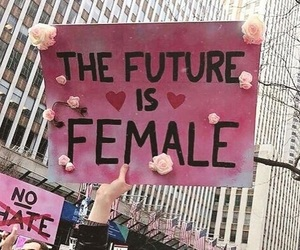 female, protest, and pussy power image