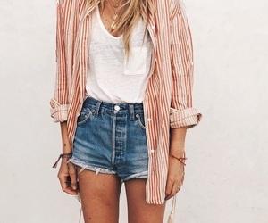 fashion, summer, and denim image
