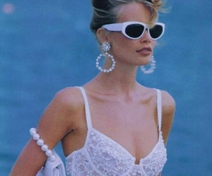 fashion, 90s, and model image